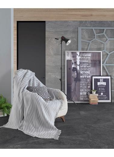 Eponj Home Keten Koltuk Örtüsü 170x220Cm Verda  Gri